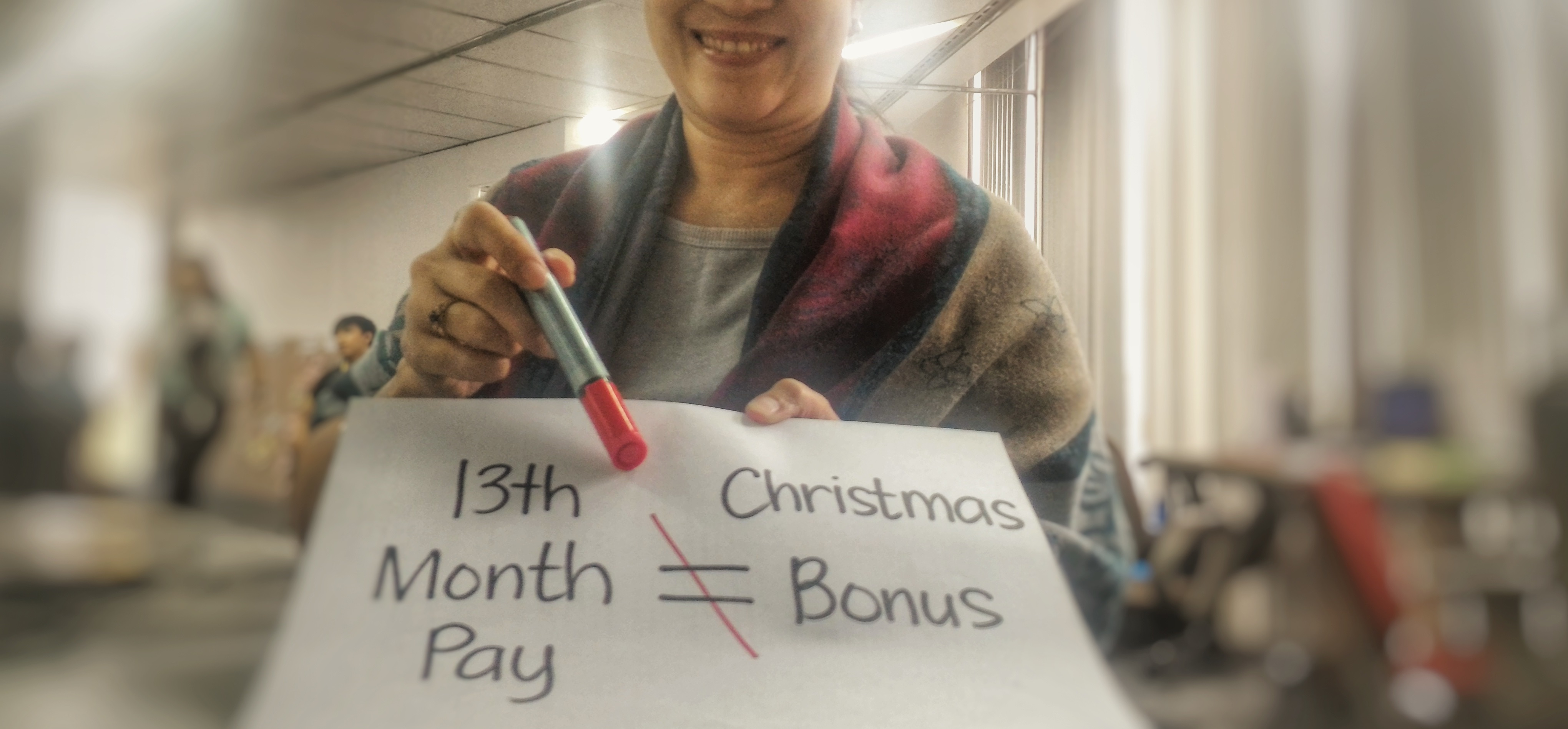 Why the 13th Month Pay is Not the Same as the Christmas Bonus