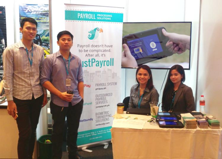 JustPayroll Booth