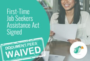 First-time Jobseekers Assistance Act Signed, Document Fees Waived