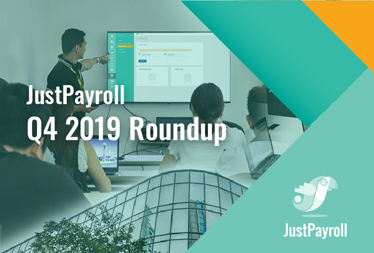 JustPayroll Q4 2019 Roundup
