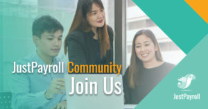 JustPayroll Community: Join us today
