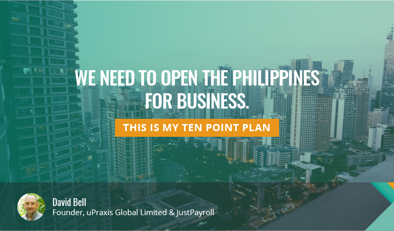 Why Philippines must open for business