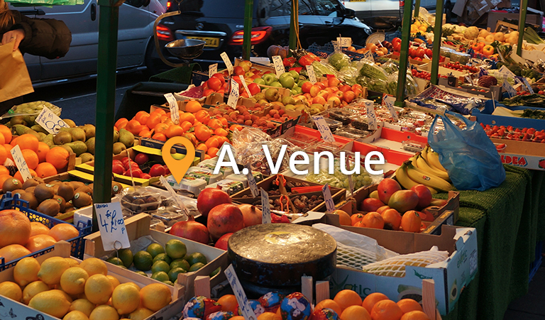 A Night Out at A.Venue Market